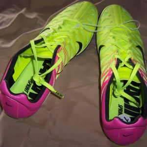 Nike Racing Sprint track Spikes Shoes sz13